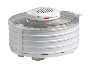 Nesco FD-37A American Harvest Food Dehydrator, White, 400-watt