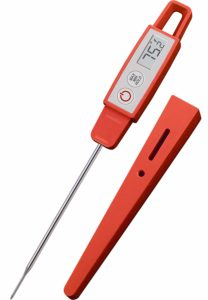Lavatools PT09 Commercial Grade Digital Kitchen Instant Read Meat Thermometer (Chipotle)