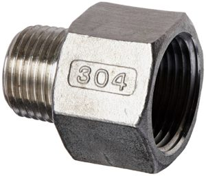 Stainless Steel Reducing Coupler for Chugger Center Pumps