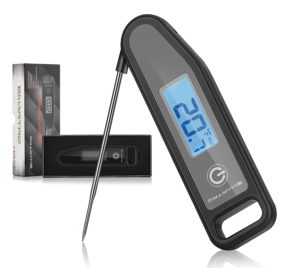 Premium Meat Thermometer Instant Read Digital Food Thermometer For Kitchen Cooking Candy Grill BBQ Smoker