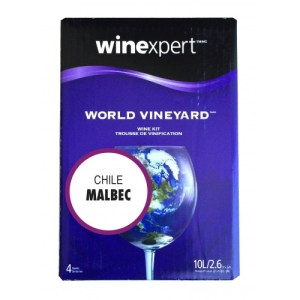 World Vineyard Wine Making Kit - Chilean Malbec WK734