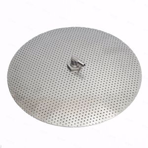 "12"" Stainless Steel False Bottom For 10 Gallon Mash Tun Home Brewing SS Fittings"