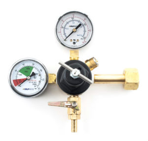 Taprite T-Knob Dual Gauge Regulator