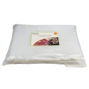 "Vacuum Sealer Bags Sous Vide Bags Vacuum Packaging Pouches - Deefre 4 mil Thickness Commercial Grade Food Sealer Bags for FoodSaver and Sous Vide BPA Free Fit All Sealers (100 Gallon Bags 11""x16"")"