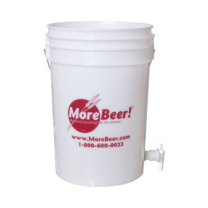 Plastic Bucket - 6 gal. (With Spigot)