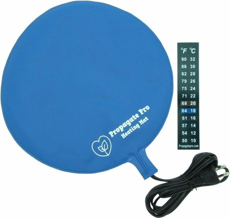 Brewing & Fermentation Heat Pad for Homebrew Beer & Wine Fermenting 120VAC 12 or 25 Watt Heating Mat: Safe for Plastic/Glass Carboy & Bucket Fermentors Includes Heater Temperature Strip