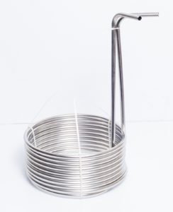 """25' Stainless Steel Home Brewing Beer Immersion Wort Chiller Coil 3/8"""" OD"""
