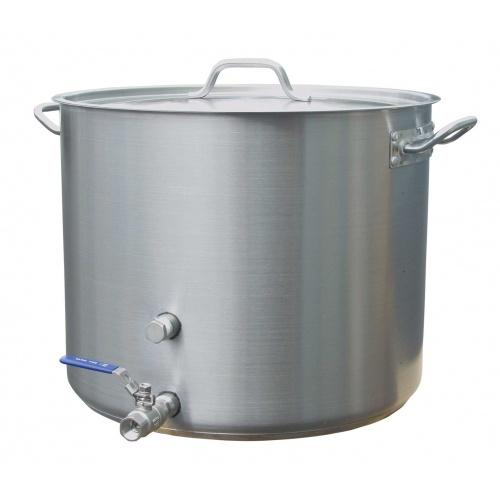 Heavy Duty Stainless Steel Brewing Kettle - 15 gal.