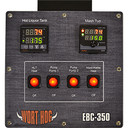 wort hog electric brewery controllers