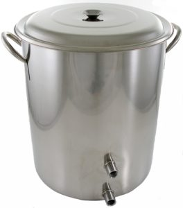 10 Gallon 2 Weld Volume Marked Brew Pot