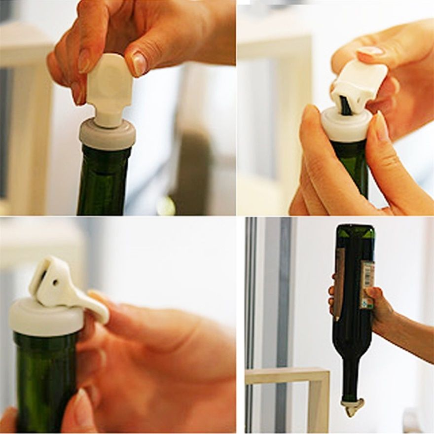 3pcs Reusable Flip Top Bottle Lids Vacuum Sealed Wine Beer Stopper Cap New MC