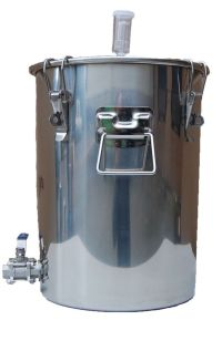 14 Gallon Chapman Stainless Fermenter Boil Kettle Ported Homebrew Moonshine Beer
