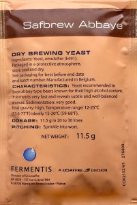 Safbrew BE-256 Dry Brewing Yeast 11.5 grams