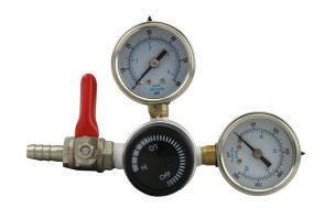 Ultra-Precise Dual Gauge CO2 Regulator by The Weekend Brewer