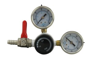 Ultra-Precise Dual Gauge CO2 Regulator by The Weekend Brewer