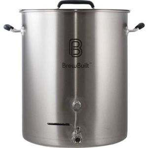 BrewBuilt­™ 10-50 Gallon Brewing Kettle - Free Shipping Stainless Steel Beer Pot