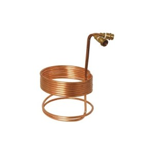 Immersion Wort Chiller - 25 ft. x 3/8 in. (With Fittings) WC23