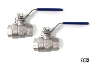 Concord 1/2 Full 304 Stainless Steel Full Port Ball Valve Kettle Spigot (2)