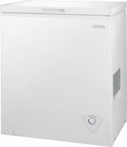 Insignia™ - 5.0 Cu. Ft. Chest Freezer - White