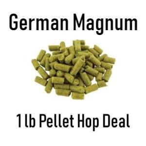 Magnum Pellet Hops - German - 1 lb Bag