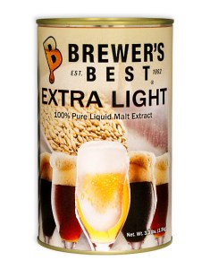 Dented BOGO Brewer's Best Extra Light Liquid Malt Extract 3.3 lb
