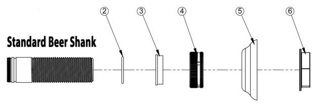 Shank Parts List