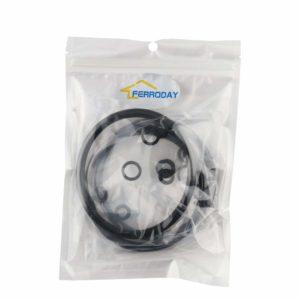 Ferroday Ball Lock Cornelius Type Beer Keg (Soda Keg) Seal Replacement Kit O-ring Corny Keg Gasket O ring Rebuild Sets,3 Pcs/lot