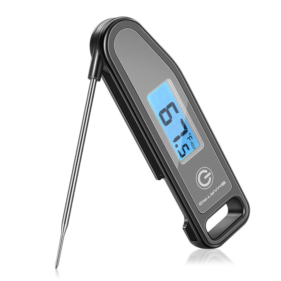 SMARTRO ST43 Meat Thermometer Instant Read Cooking Food Thermometer Digital Touch-Screen Thermometer for Candy, BBQ, Kitchen, Grilling, Smoker