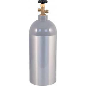 10 lb CO2 Tank Aluminum Air Cylinder Draft Beer Kegerator Welding Wine Homebrew
