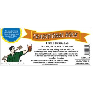 Palmer Premium Beer Kits - Little Barnabas - Traditional Bock KIT98210