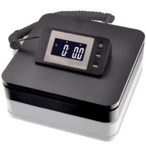 SAGA 100 LB X 0.1 oz DIGITAL POSTAL SCALE for SHIPPING WEIGHT POSTAGE W/AC 45 KG (Black)