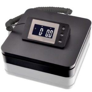 SAGA 100 LB X 0.1 oz DIGITAL POSTAL SCALE for SHIPPING WEIGHT POSTAGE W/AC 45 KG (Black)