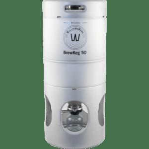 Williams Warn BrewKeg50 - 50 L (13.2 Gallon) Conical Unitank Fermenter