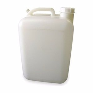Plastic Carboy, 5 Gal, With Handle & Cap (Hedpack)