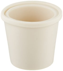 Home Brew Ohio Drilled Rubber Stopper, Carboy Bung (Pack of 3)