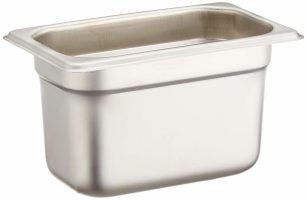 Winco SPJL-904 Anti-Jamming Steam Pan, 1/9 by 4-Inch, Standard Weight