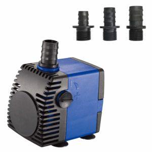 JAJALE Submersible Water Pump Ultra Quiet for Pond,Aquarium,Fish Tank,Fountain,Hydroponics
