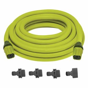 Sun Joe Expandable Lightweight Kink-Free Hose | 75-Foot | Quick Connectors