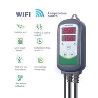 Inkbird WiFi ITC-308 Digital Temperature Controller Outlet Thermostat, Dual Screen Readouts,1100w, w/Sensor, Home Brewing & Fermentation,Breeding& Incubation,Greenhouse,Kombucha
