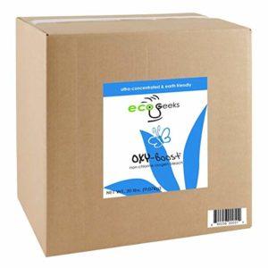 ecoGeeks OXY-BOOST Oxygen Bleach 20LB Bulk Packaged by ecoGeeks