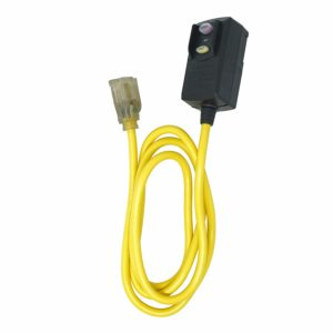Woods 2879 Cord Ext Gfci 14/3Sjtw 6Ft Yel, 6-Feet, Yellow