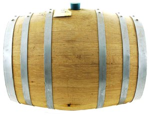 Fresh 5 Gallon American Oak Barrel