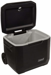Coleman Wheeled Cooler   Xtreme Cooler Keeps Ice Up to 5 Days   Heavy-Duty 50-Quart Cooler with Wheels for Camping, BBQs, Tailgating & Outdoor Activities