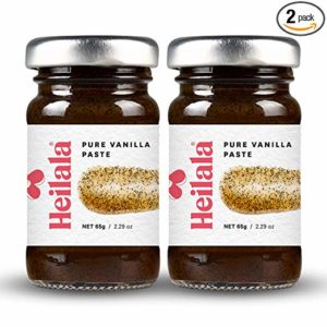 Vanilla Bean Paste for Baking - Heilala Pure Vanilla Bean Paste (2 Pack), Contains Whole Vanilla Bean Seeds