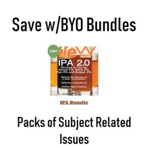 Save With BYO Magazine Bundles – IPA, British Beers, Yeast, All