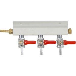 Gas Manifold - 1/4 in. (Aluminum) D1807