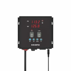 Inkbird 120V 15A 1800W Heating or Cooling PID Temperature Controller, Plug and Play IPB-16S Prewired Digital Home Brewing and Distillation Controller, Independent Control Pump Thermostat with 2 Plugs