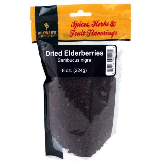 BREWER'S BEST® - DRIED ELDERBERRIES - 8 OZ