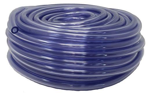 Rollerflex Food Grade Crystal Clear Vinyl Tubing, 3/16-Inch ID x 5/16-Inch OD (100 Ft)