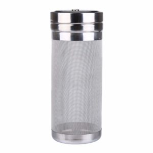 Outamateur 300 Micron Filter Stainless Steel Mesh Dry Hopper Brewing Filter Tea Kettle Brew Filter for Homebrew of Beer Wine Coffee (2.9 x 7.1)